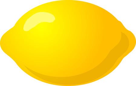 Ilustración de un conjunto de limón, isométrico degradado de color ilustración