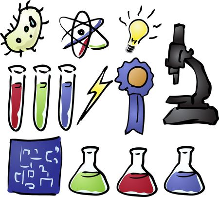 Science icon set  Stock Photo - 3168554