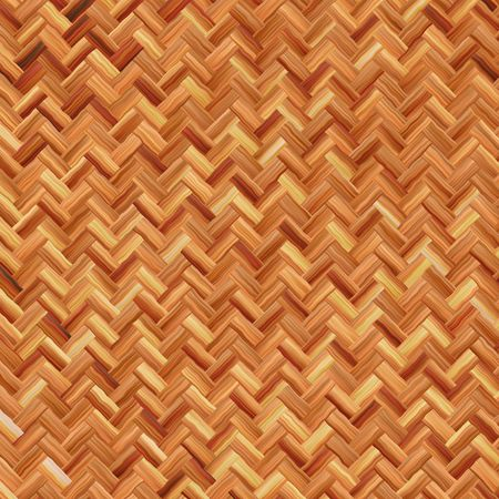 seamlessly: Woven basket texture seamlessly tiling rendered illustration Stock Photo