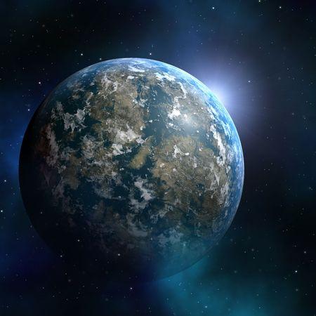 outerspace: Starfield espacio nebulosa abstracta ilustraci�n de outerspace cielo estrellado