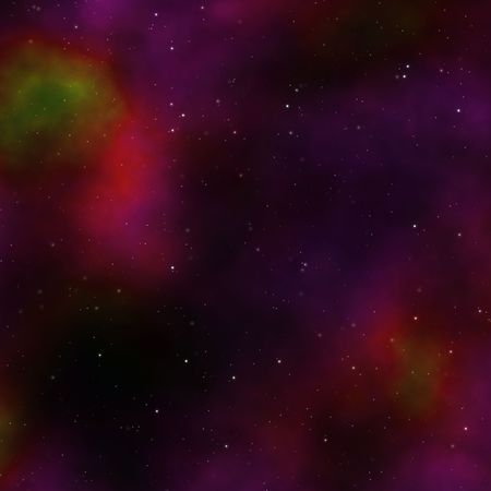 Space nebula starfield abstract illustration of outerspace starry sky Stock Illustration - 3313004