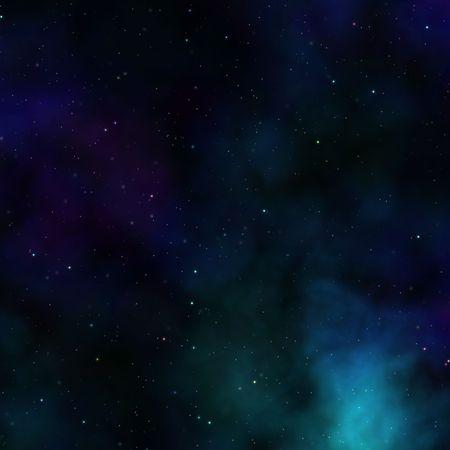 outerspace: Espacio nebulosa Starfield resumen ilustraci�n de outerspace cielo estrellado