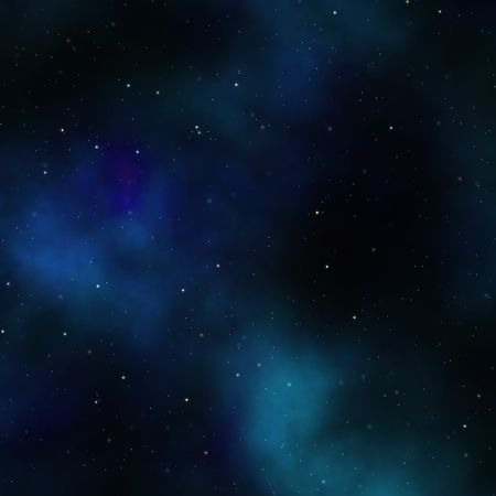 scienceficton: Space nebula starfield abstract illustration of outerspace starry sky Stock Photo