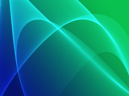 Abstract wallpaper illustration of wavy flowing energy and colors Stock Illustration - 3393023