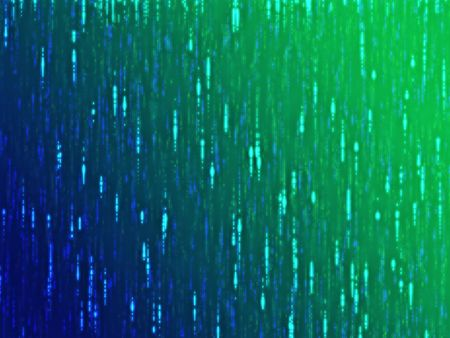 streaks: Abstract wallpaper illustration of glowing wavy streaks of multicolored light