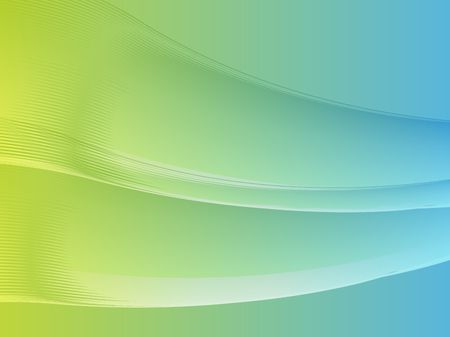 Abstract wallpaper illustration of wavy flowing energy and colors Stock Illustration - 3464353