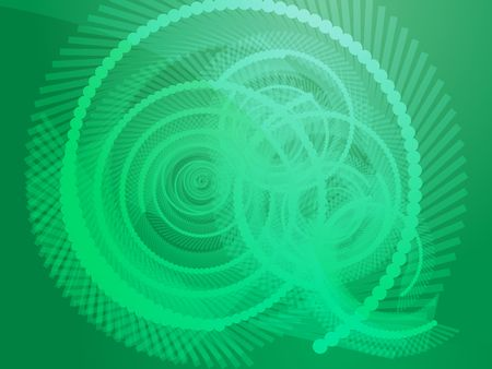 circling: Abstract geometric spiral design wallpaper background illustration
