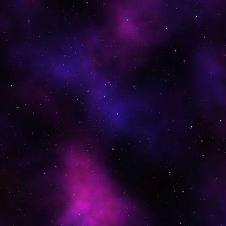 Space nebula starfield abstract illustration of outerspace starry sky Stock Illustration - 3480738