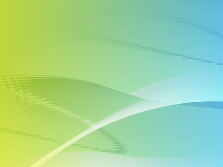 Abstract wallpaper illustration of wavy flowing energy and colors Stock Illustration - 3655789