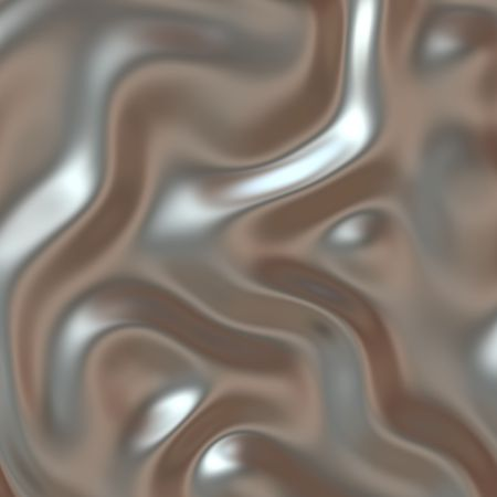 reflecting: Smooth glossy chromed warped reflective metal surface texture