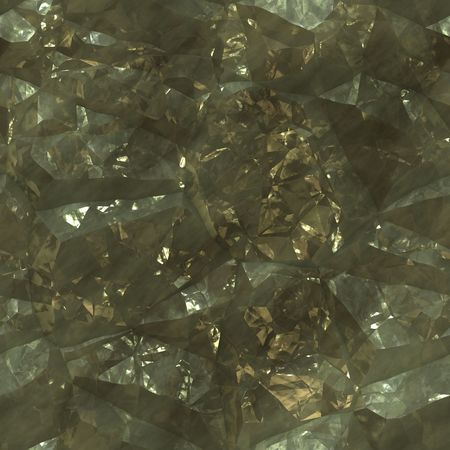 deposits: Crystalline mineral and metal shiny faceted ore deposits