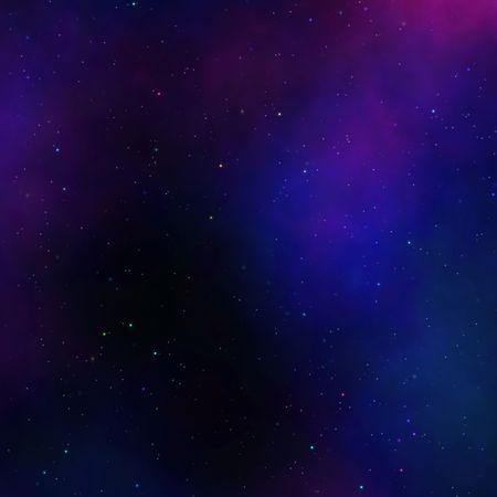 outerspace: Espacio nebulosa Starfield ilustraci�n de outerspace cielo estrellado