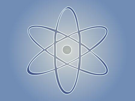 fission: Atomic symbol Stock Photo
