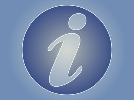 Information symbol, used for assistance and tourism Stock Photo - 3745855