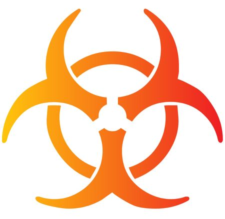 Biohazard sign, warning alert for hazardous bio materials Stock Photo - 3783553