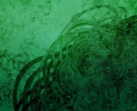semicircle: Swirly abstract grunge textured background wallpaper illustration
