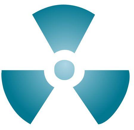 Illustration of radiation hazard warning alert symbol Stock Illustration - 3802124