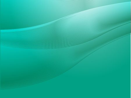 Abstract wallpaper illustration of wavy flowing energy and colors Stock Illustration - 3857272