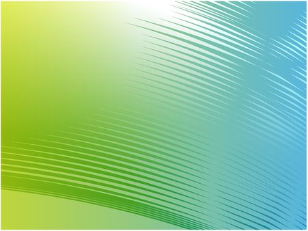 Abstract wallpaper illustration of wavy flowing energy and colors Stock Illustration - 3882852