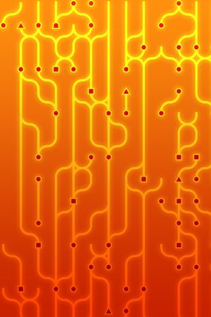 circuitry: Abstract illustration of circuitry electronic pattern design