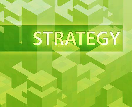 Strategy illustration, management organization structure concept clipart illustration