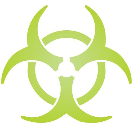 Biohazard sign, warning alert for hazardous bio materials Stock Photo - 3902255