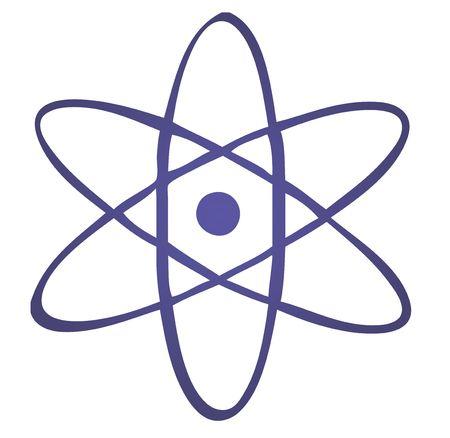 critical: Atomic symbol Stock Photo