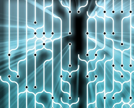 circuitry: Abstract wallpaper illustration of electronic circuitry patterns