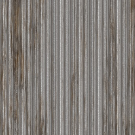 Corrugated metal surface with corrosion seamless texture Stock Photo - 3964216