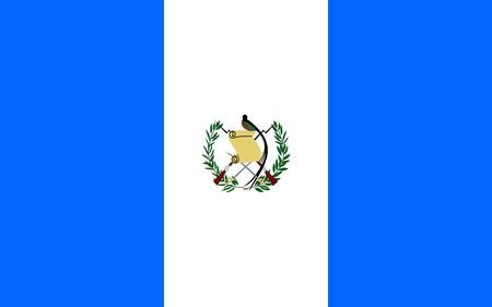 Flag of Guatemala, national country symbol illustration illustration