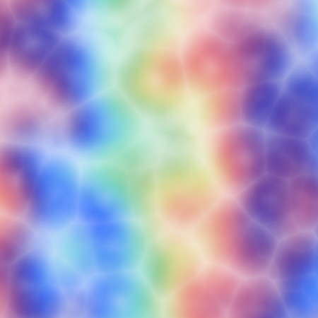acid: Tie dye pattern, abstract design of wild bright colors