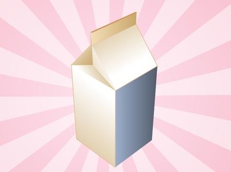 carton de leche: Leche en cart�n ilustraci�n, claro tetrapack bebida contenedor