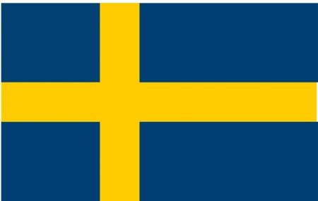 Flag of Sweden, national country symbol illustration illustration
