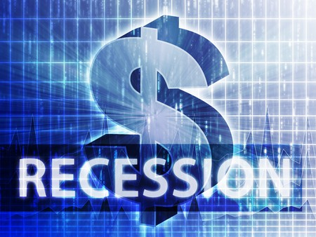 bailout: Recession Finance illustration, dollar symbol over financial design