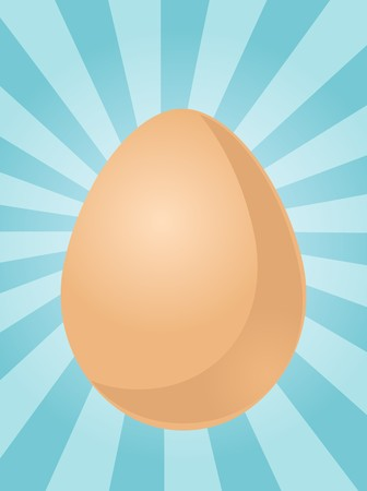 unpeeled: Egg illustration clipart whole uncracked unpeeled in shell