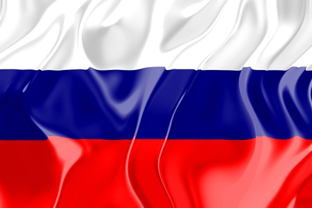 Flag of Russia, national country symbol illustration Stock Illustration - 4183173