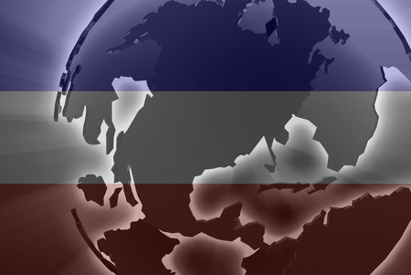 serbia and montenegro: Flag of Serbia and Montenegro, national country symbol illustration