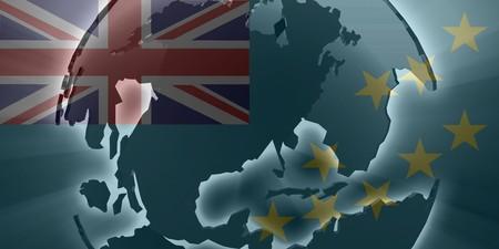 tuvalu: Flag of Tuvalu, national country symbol illustration Stock Photo