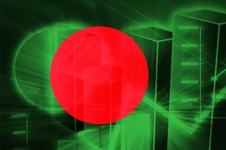 Flag of Bangladesh, national country symbol illustration Stock Illustration - 4390117
