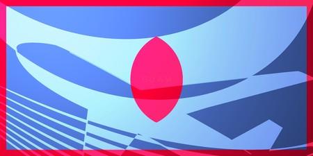 guam: Flag of Guam, national country symbol illustration