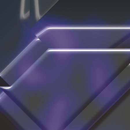 sheen: 3d geometric abstract metallic surface background texture