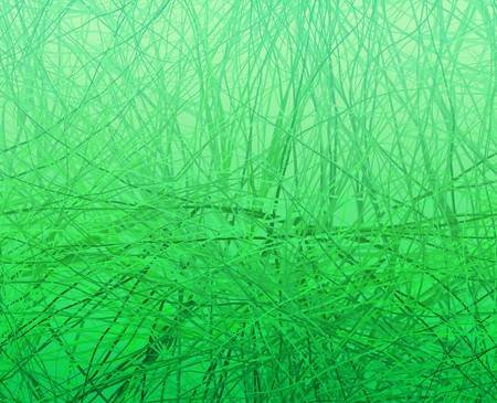 messed: Abstract strands design, grass or hair pattern Stock Photo