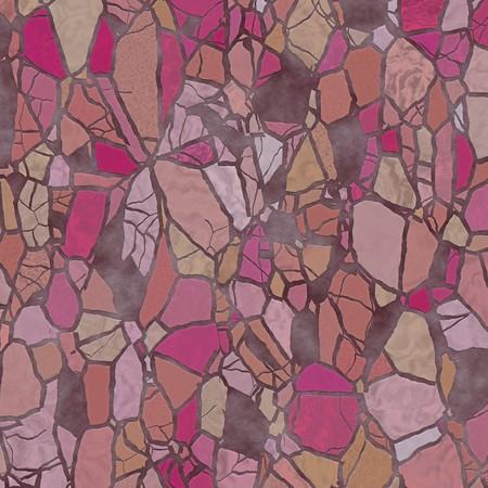 Broken stone mosaic pattern, background texture illustration Stock Illustration - 4578626