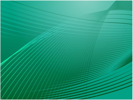 Abstract wallpaper illustration of wavy flowing energy and colors Stock Illustration - 4590770