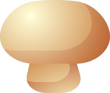 vegetable icon, chubby squarish style illustration illustration