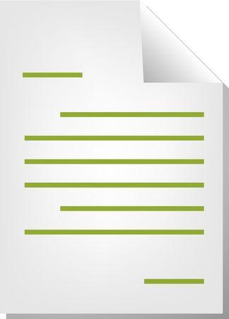 Letter correspondence document file type illustration clipart illustration