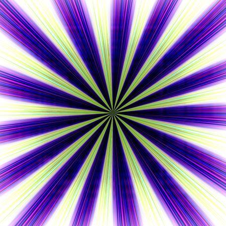 Radial zoom burst of energy, abstract background illustration illustration