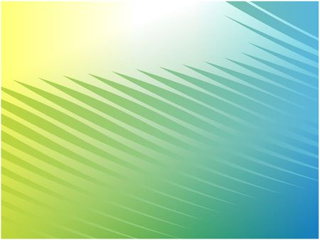 Abstract wallpaper illustration of wavy flowing energy and colors Stock Illustration - 4648361