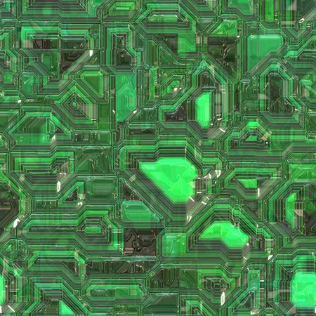 circuitry: Abstract high tech circuitry background wallpaper illustration