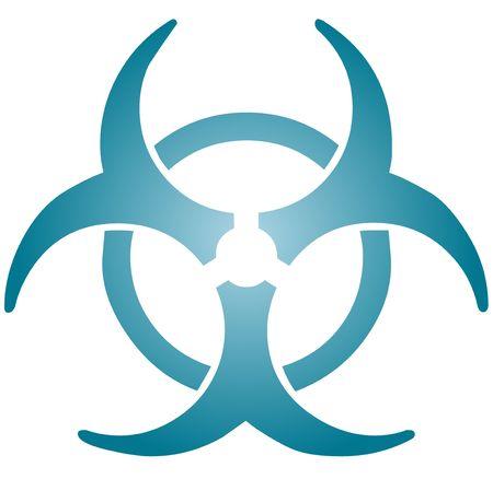 Biohazard sign, warning alert for hazardous bio materials Stock Photo - 4749751